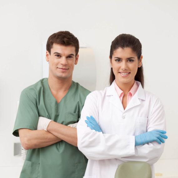 Dentists with Arms Crossed